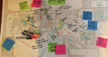 Participatory map. High River