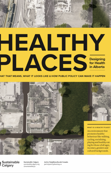 Healthy Places brochure cover